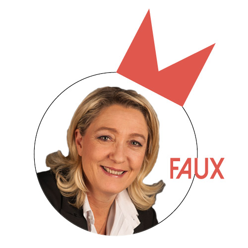 Marine Le Pen : «De 1993 à 2002, toutes les grandes entreprises françaises pouvaient payer en euros»