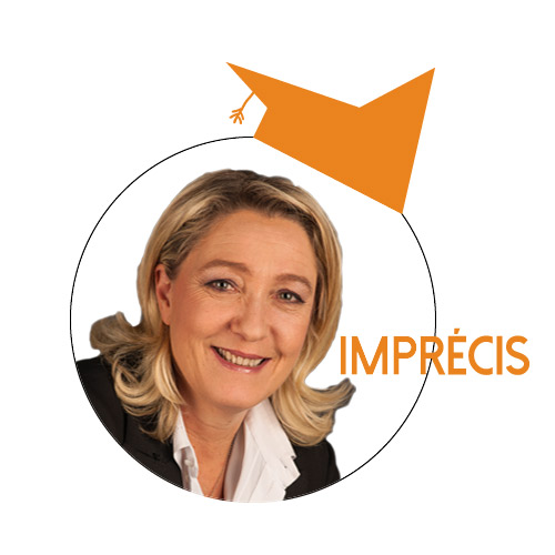 Marine Le Pen : «L'épargne des Français est en danger [à cause de] la loi sur l'union bancaire»
