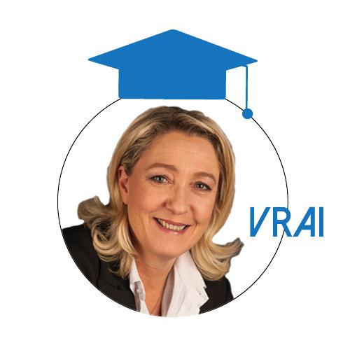 Marine Le Pen : «En France, le minimum vieillesse et l'allocation adulte handicapé sont inférieurs au seuil de pauvreté»