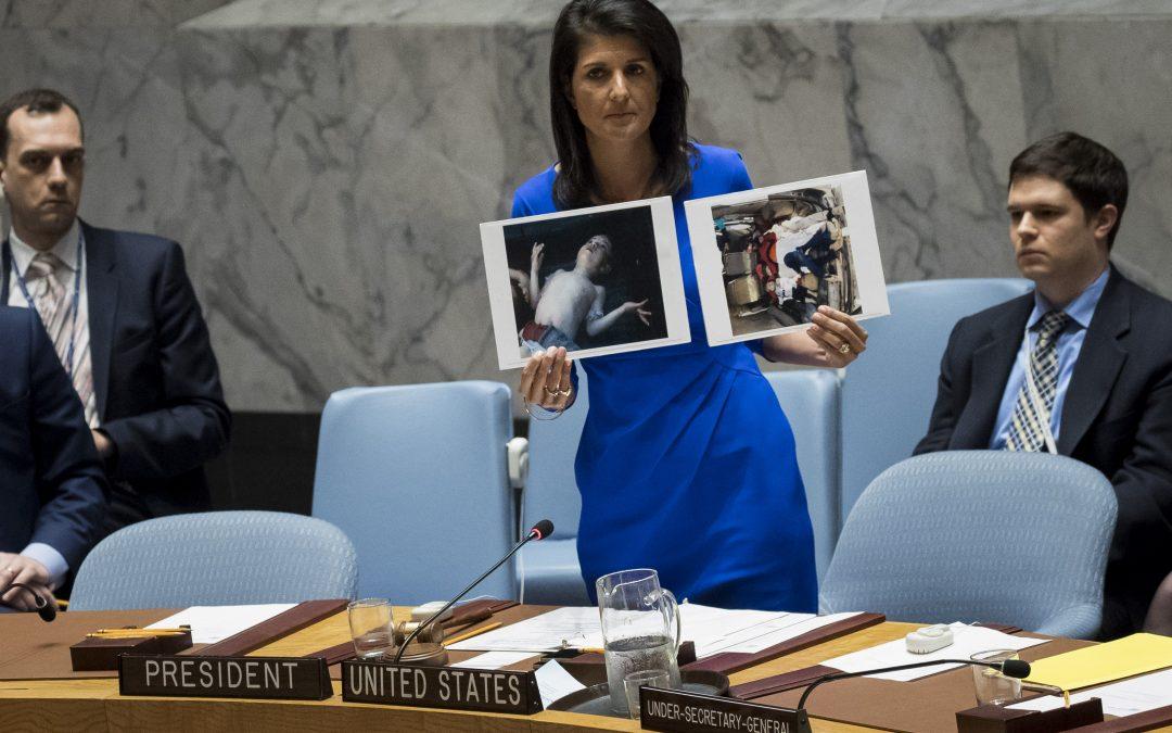 Frappe de représaille américaine en Syrie, attentat à Stockholm : résumé de la semaine