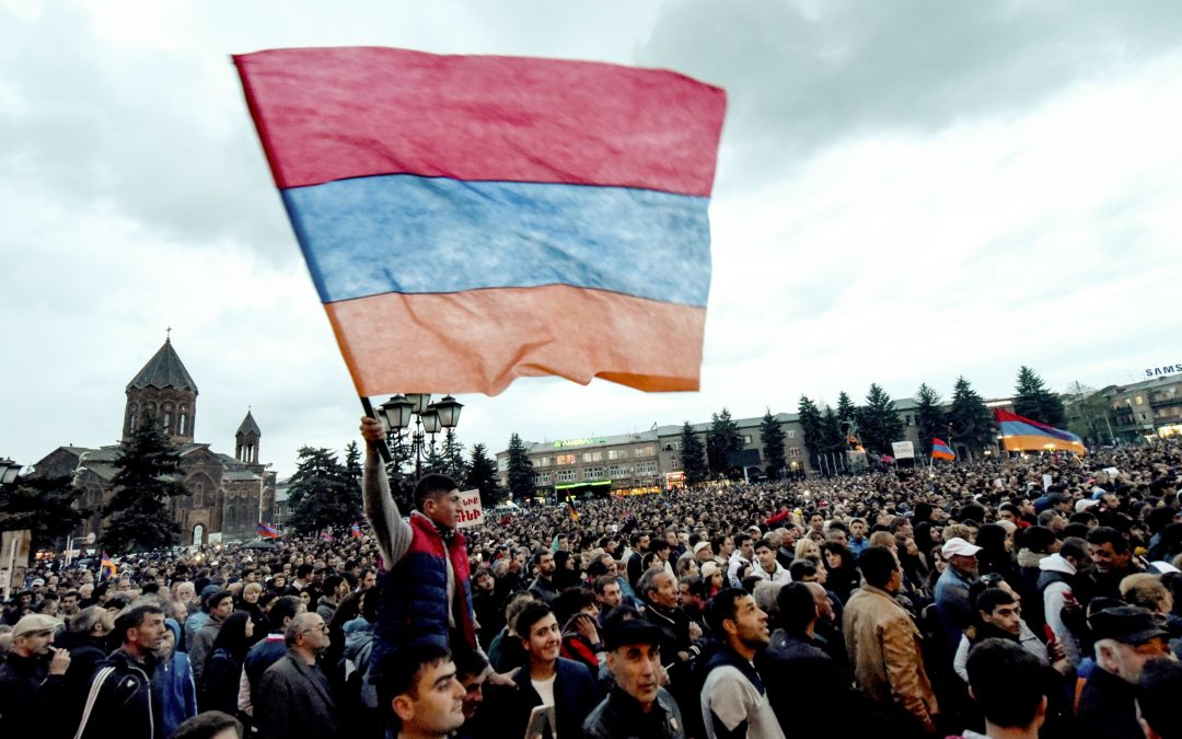 Révolution de velours arménienne, rupture pacifique