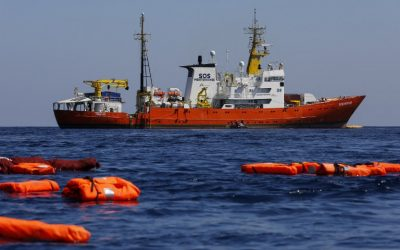 Aquarius : le bateau humanitaire menacé ?