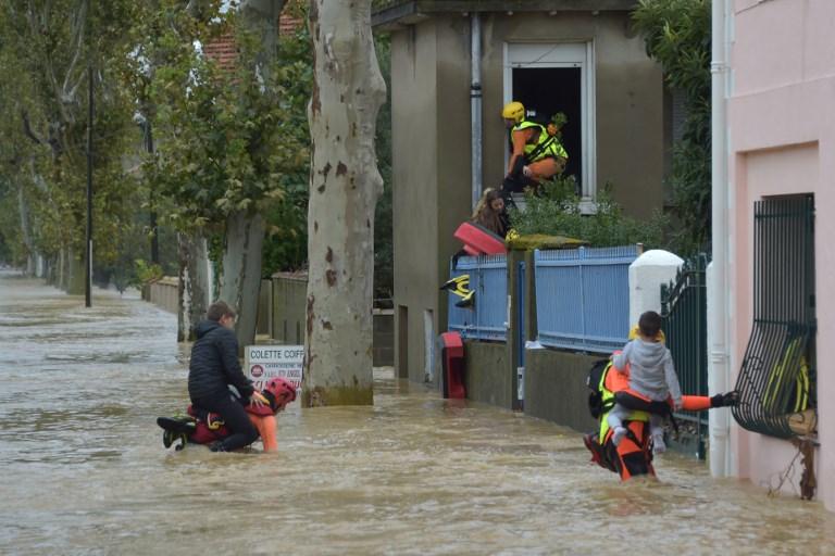 Inondations meurtrières dans l'Aude, scandale financier CumEx Files : résumé de la semaine