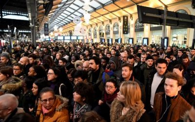 Grèves en France, législatives en Grande Bretagne : résumé des deux dernières semaines